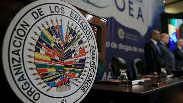 OEA misión de observación analistas