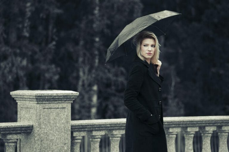 Ideas para lucir hermosa en los días lluviosos