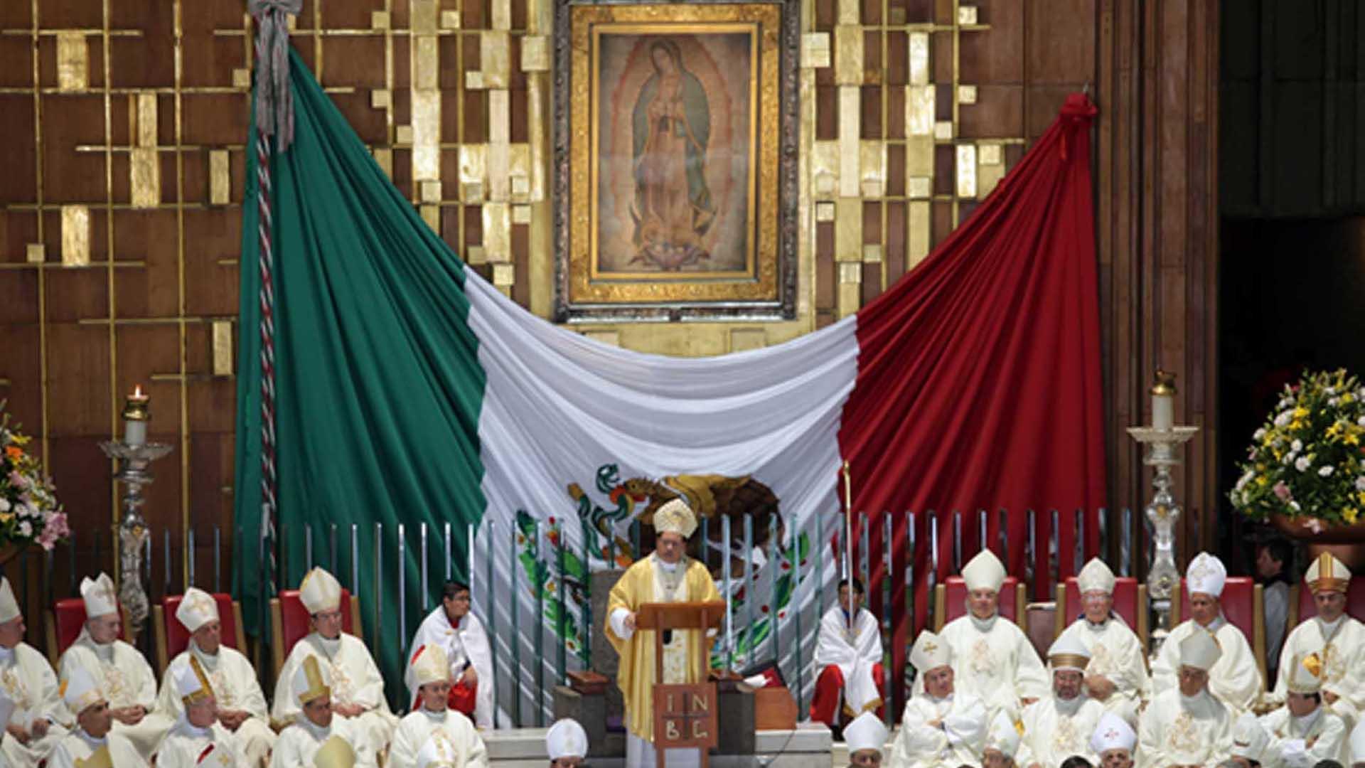"Iglesia católica mexicana en contra del aborto porque ""promueve la muerte""."