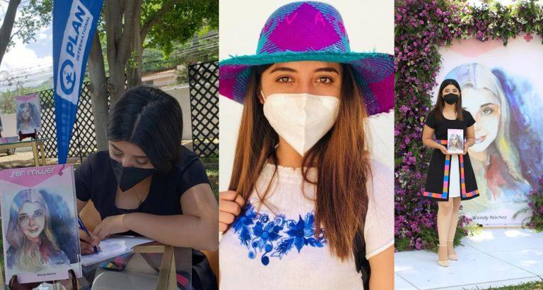 Wendy Nochéz, la joven lenca que con su libro empodera a la mujer