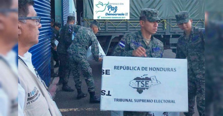 Honduras: FFAA promete proceso electoral democrático y pacífico