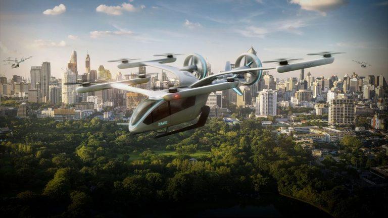 La NASA inicia pruebas de los prototipos de taxis aéreos
