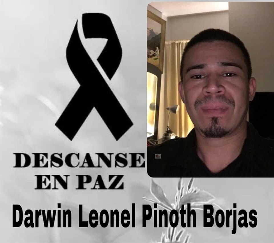 Darwin Leonel Pinoth Borjas.