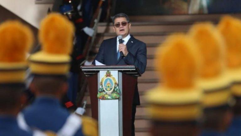 JOH: No más pobreza, corrupción, ni crimen organizado en Honduras