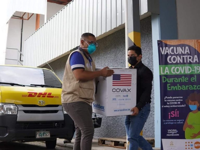 Llegan a Honduras más de 88 mil vacunas Pfizer donadas por EEUU