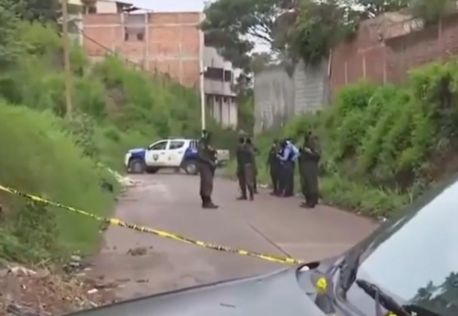 La PMOP y Policía Nacional fueron los primeros en llegar al lugar del hecho.