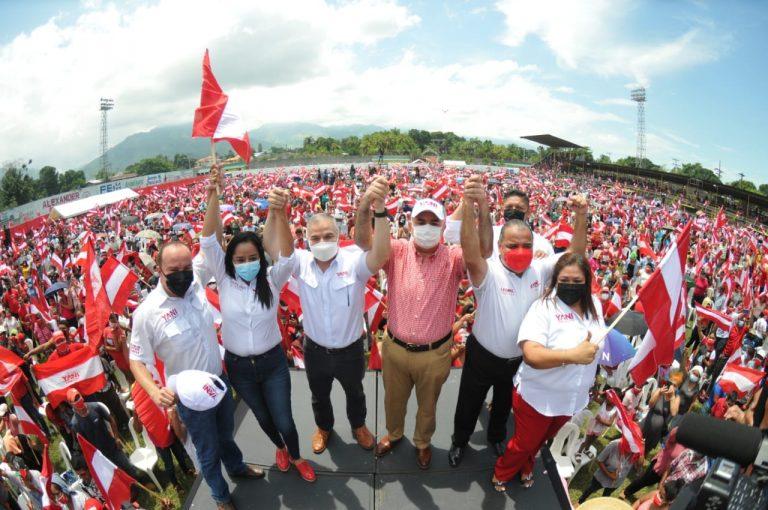 Yani en El Progreso: No les tenemos miedo, van para afuera