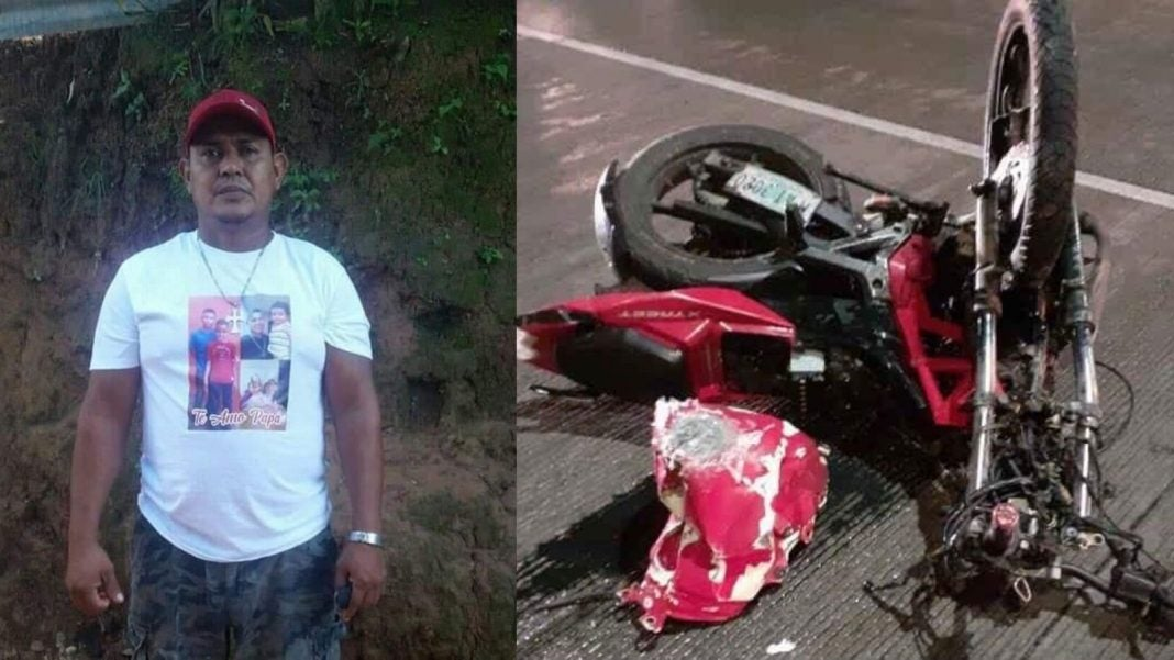 hombre murió en accidente La Ceiba
