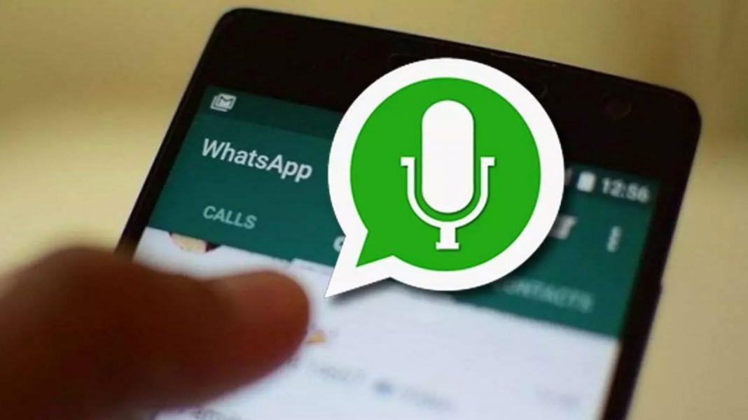 WhatsApp audio sin reproducirlo