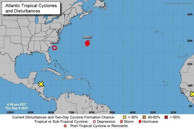 Se forma nueva onda tropical en las costas de Honduras: NHC