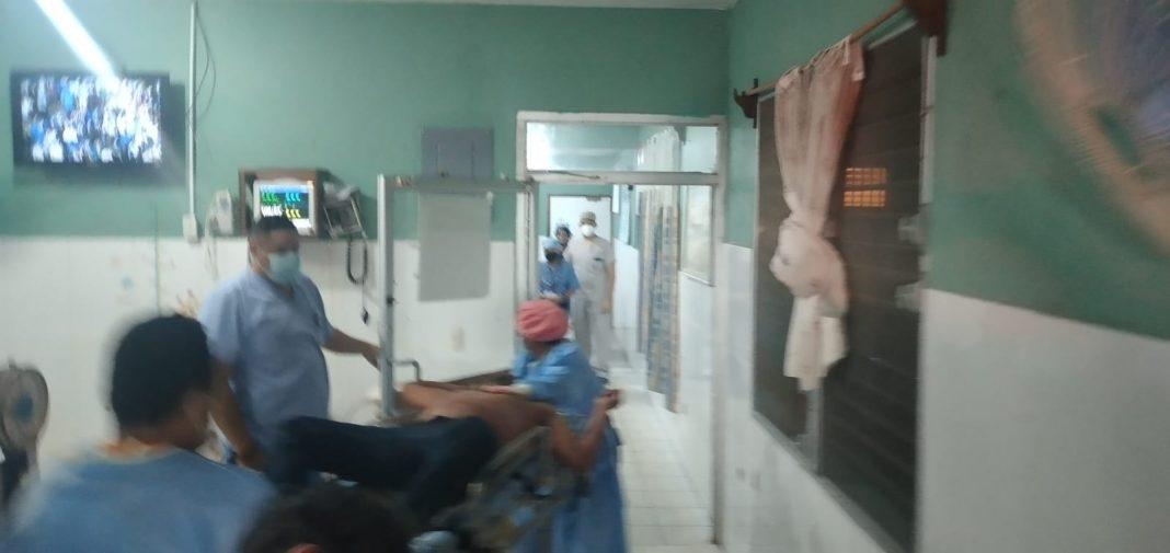 muerto por bala perdida gol de Honduras