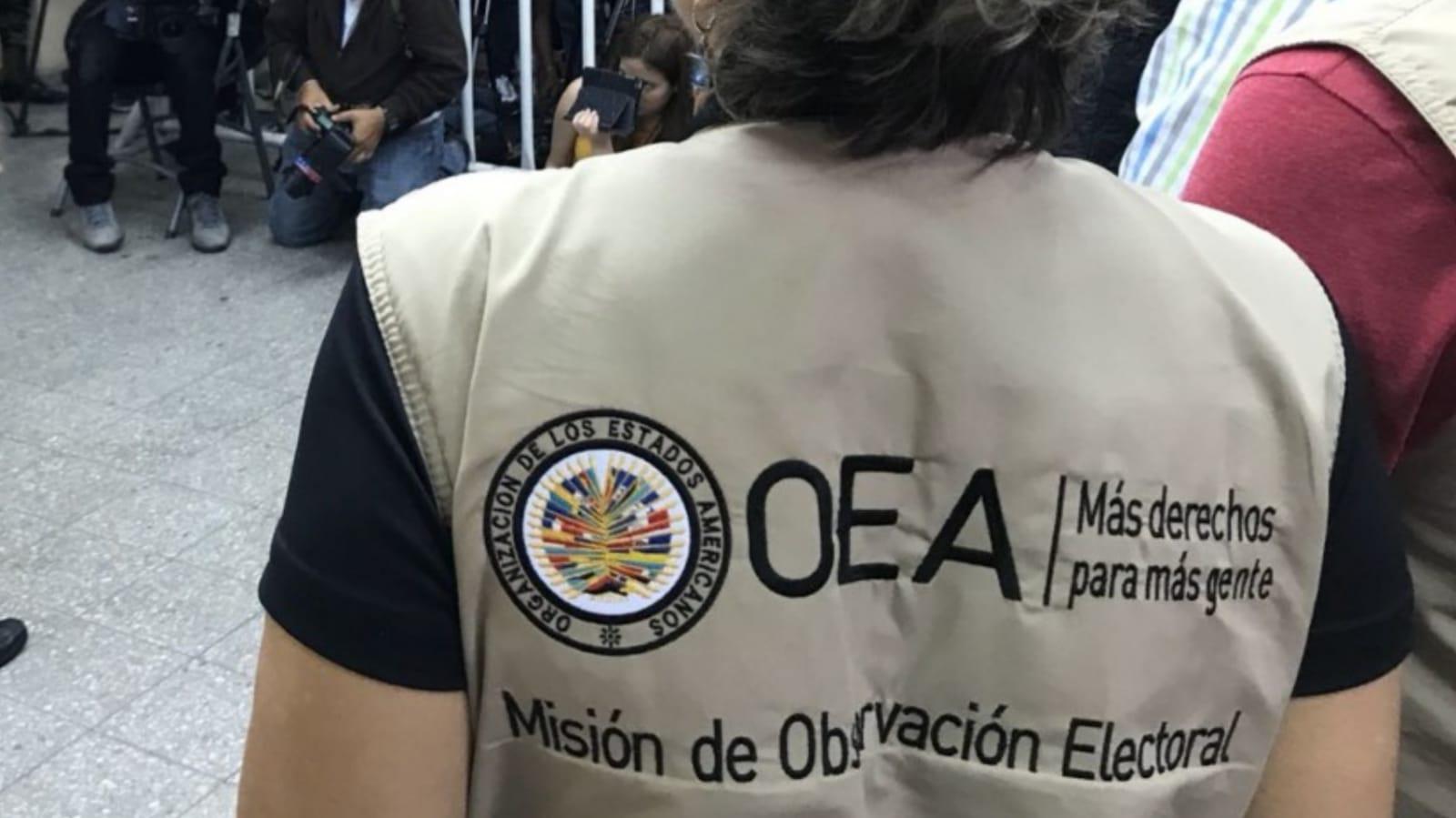 Honduras OEA observadores electorales