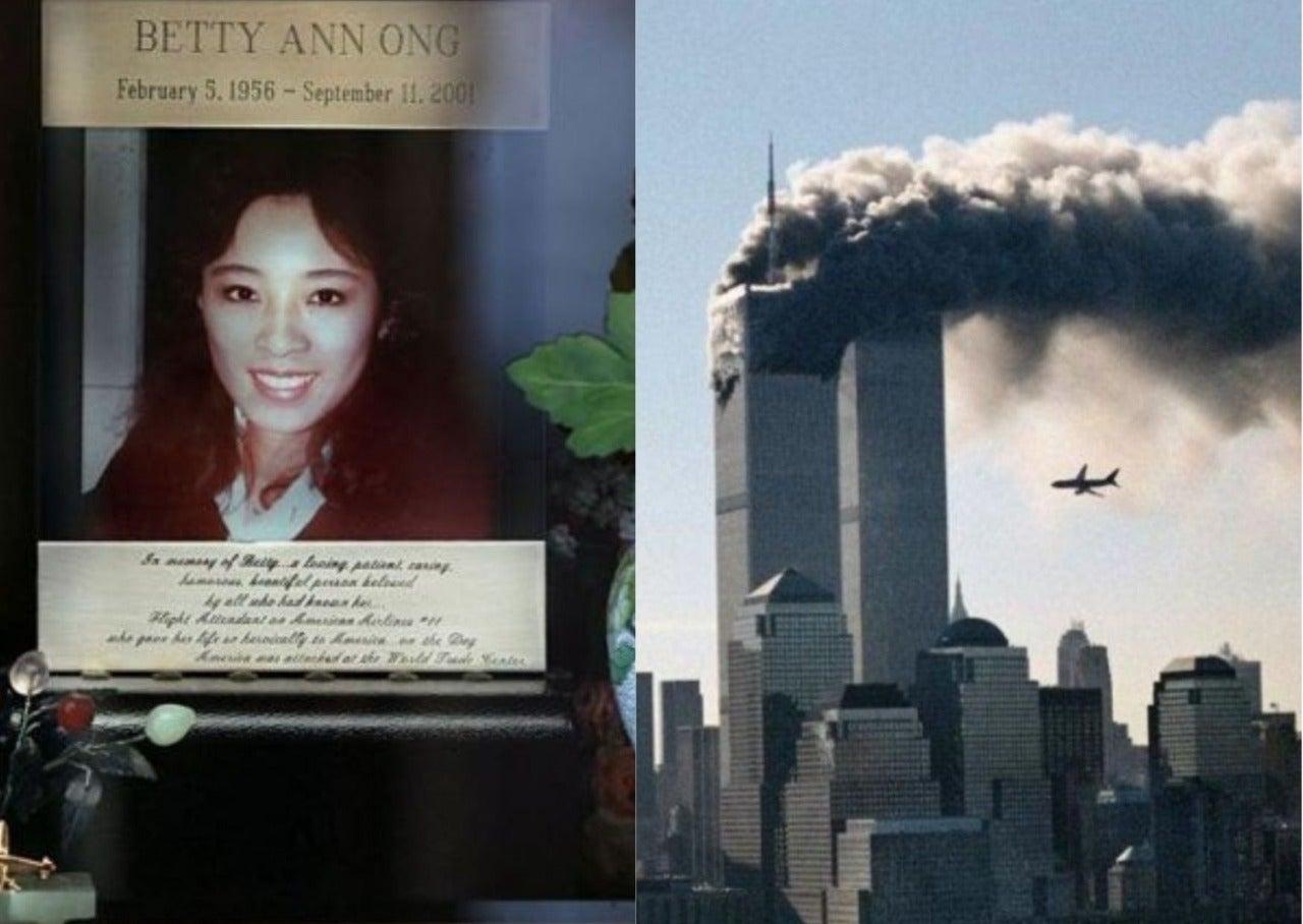 atentado del 9-11 llamada azafata