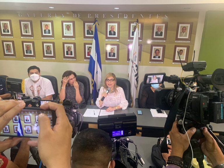 Ana Paola Hall rinde cuentas de su período al frente del CNE