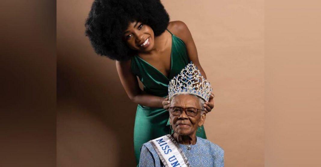Miss Honduras 2021 abuela