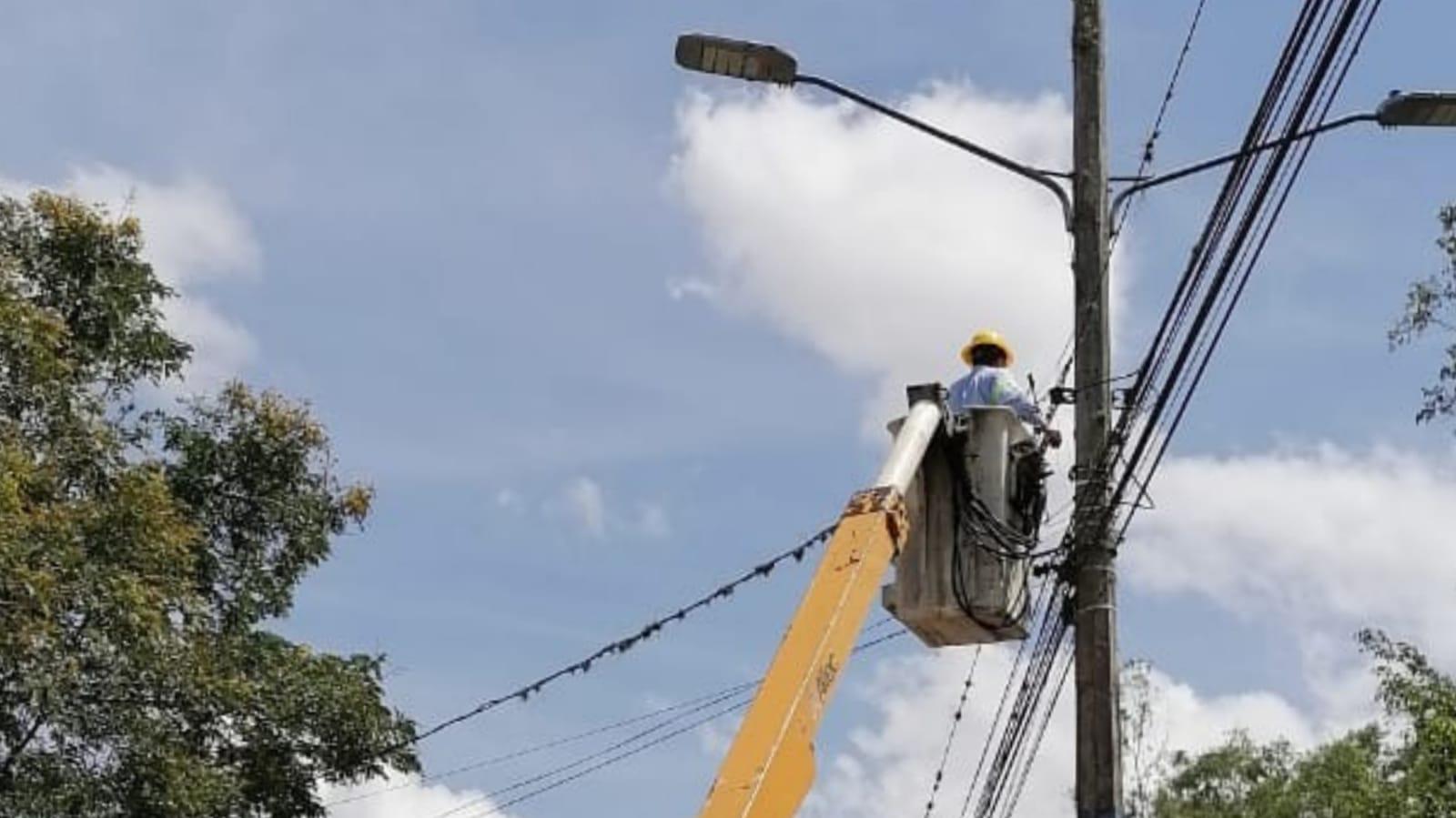 cortes de energía en Honduras el sábado