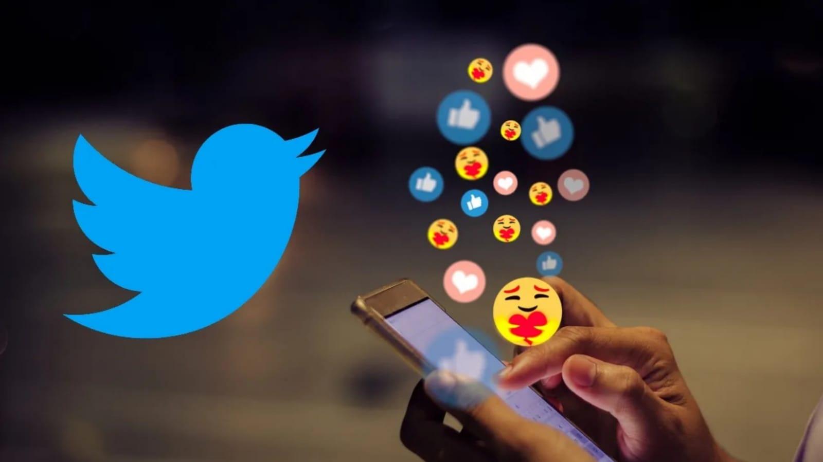 Twitter implementa reacciones