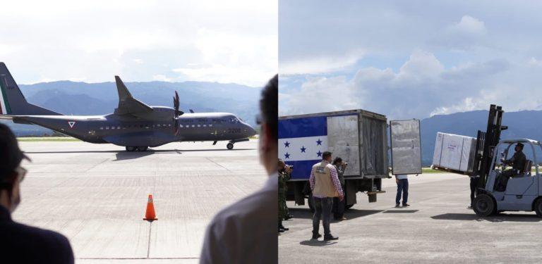 Honduras recibe de México otras 150 mil vacunas AstraZeneca