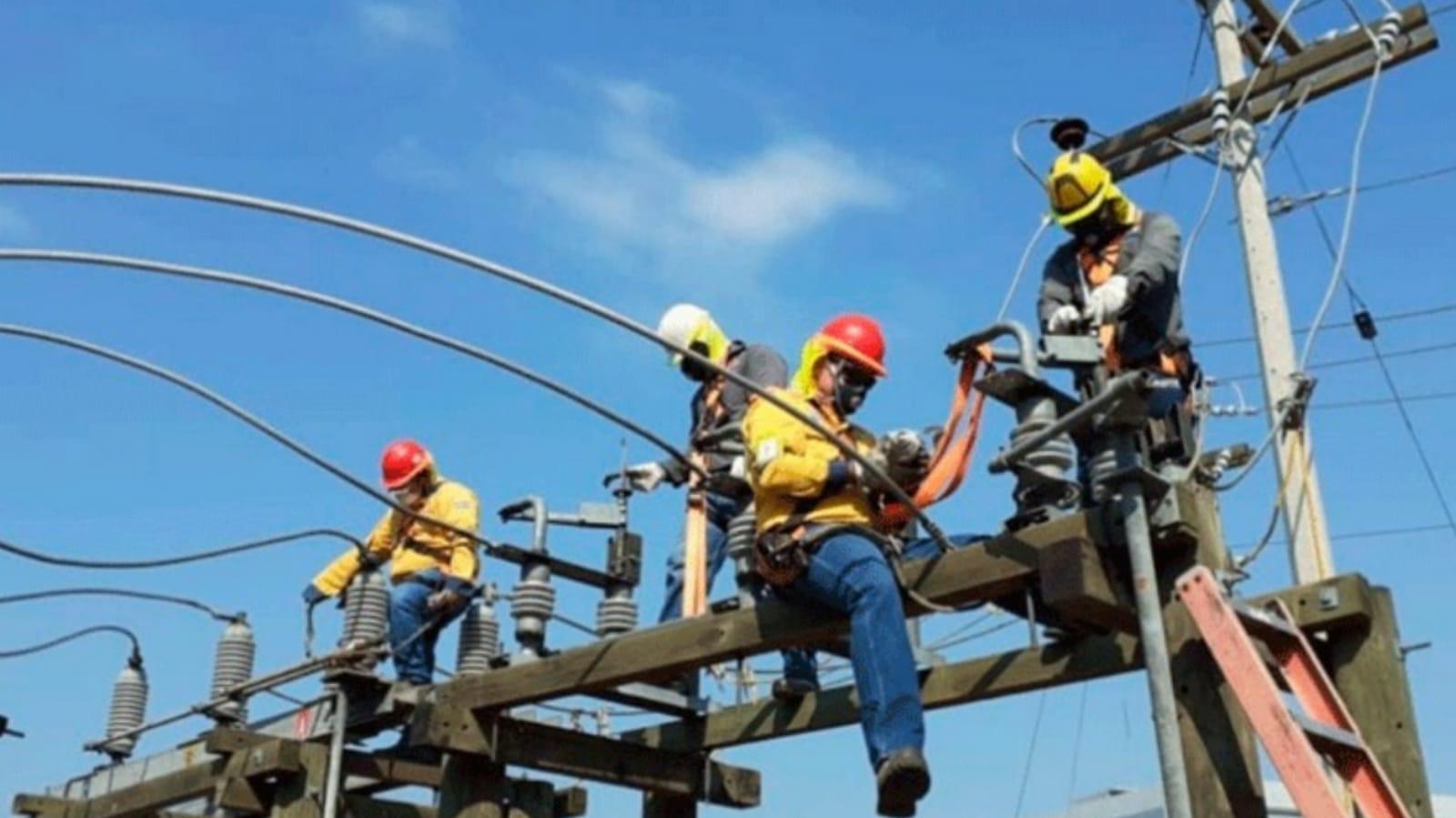 cortes de energía en Honduras el lunes