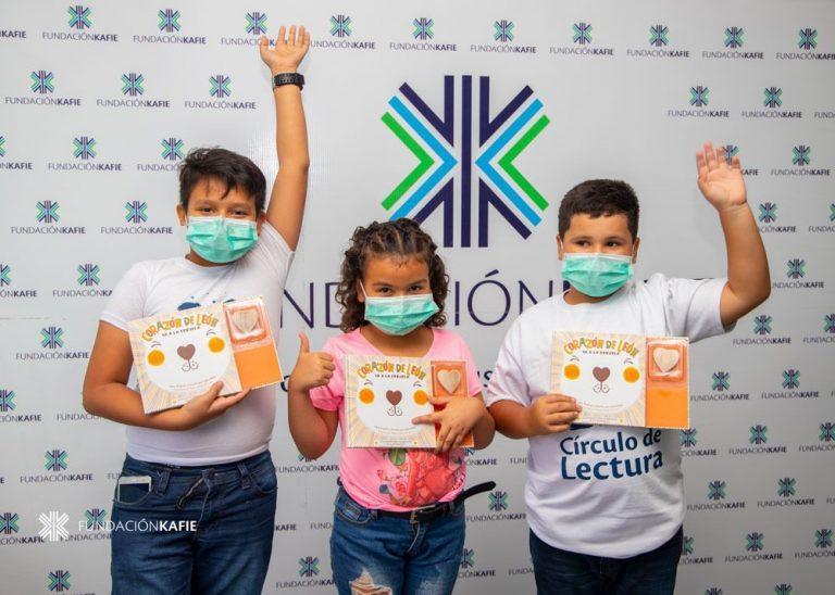 Fundación Kafie fomenta valores en niños a través de la lectura