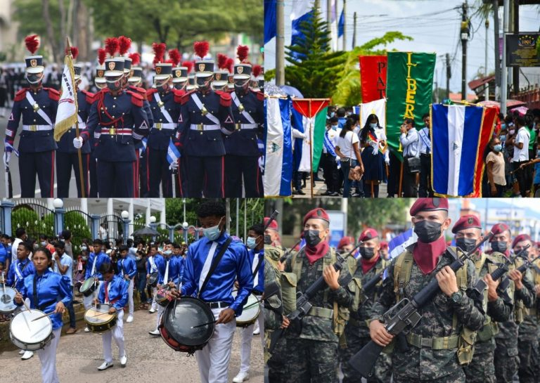 Con bandas, fervor y colores: así festeja 200 años la zona norte