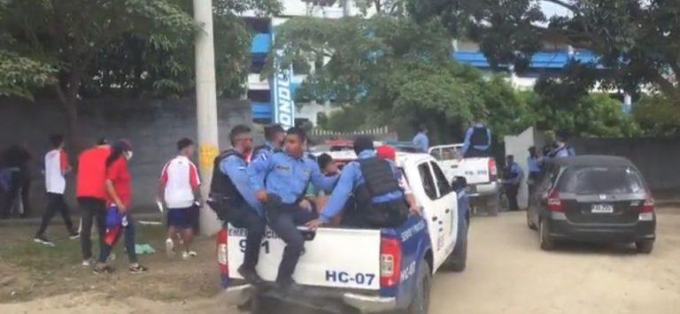 SPS: Hay detenidos tras enfrentamiento a tiros en el Olímpico