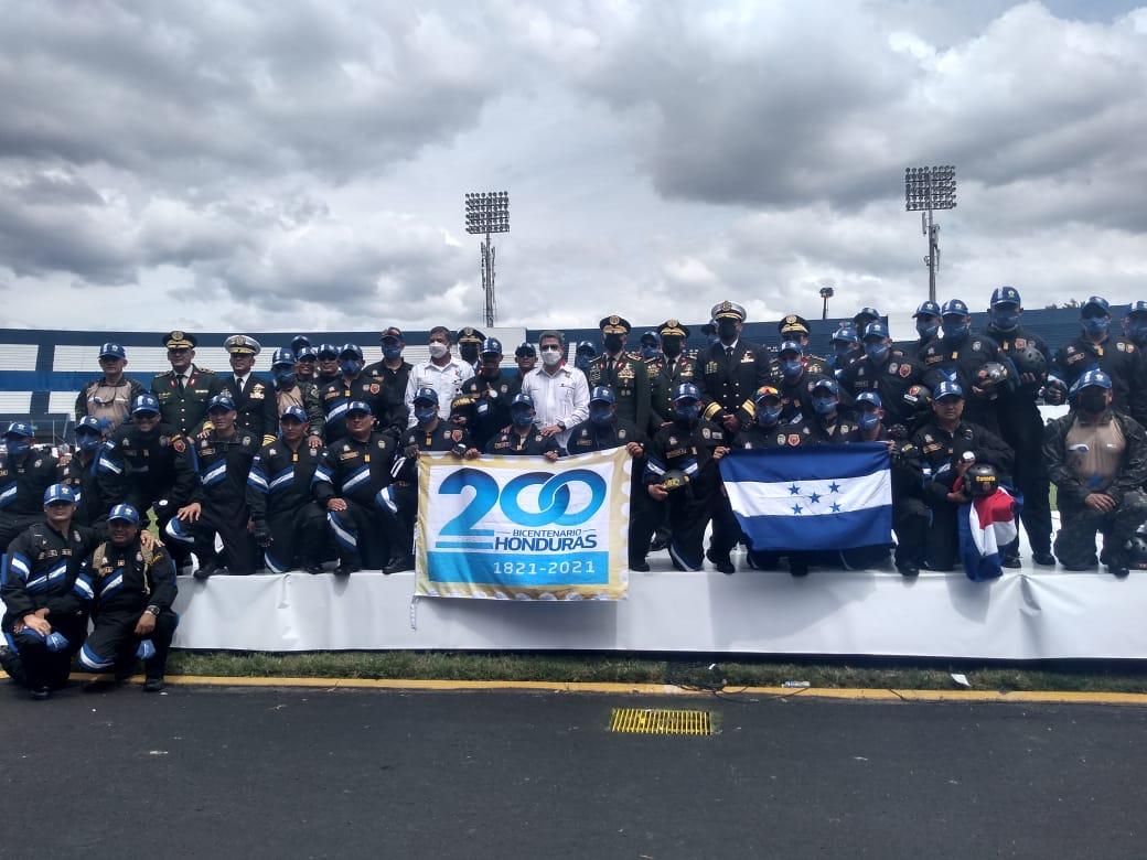 Honduras independencia celebración