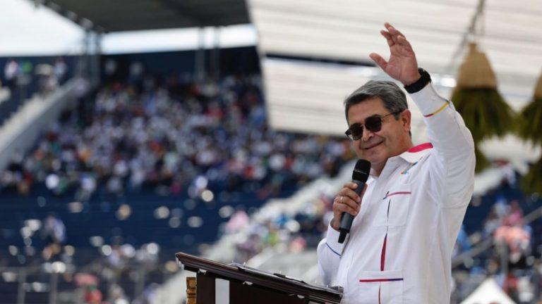 """JOH en bicentenario: """"Estoy en el final de mi mandato"""""""