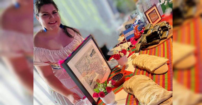 Países Bajos: hondureña festeja con comida típica el bicentenario