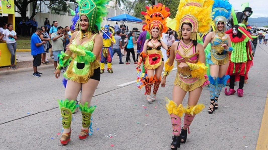 carnaval de aniversario de Tegucigalpa
