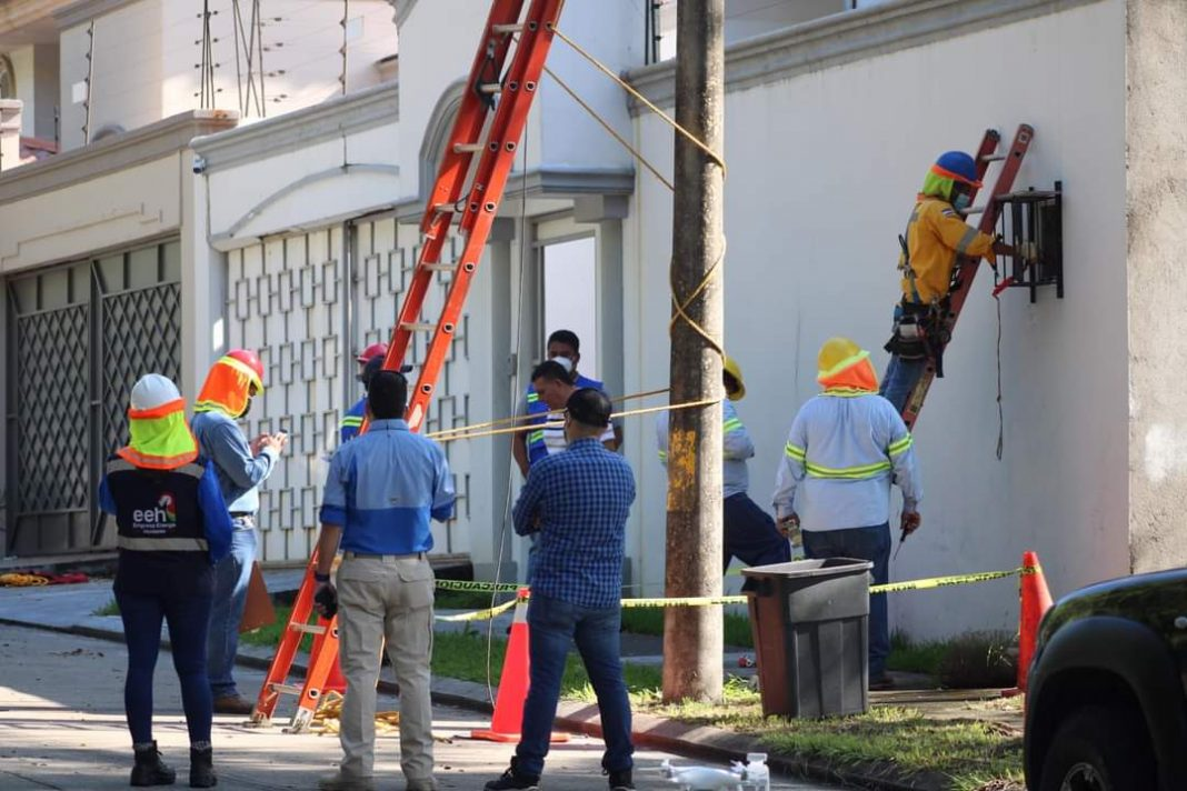 pena para hurtadores de energía en Honduras