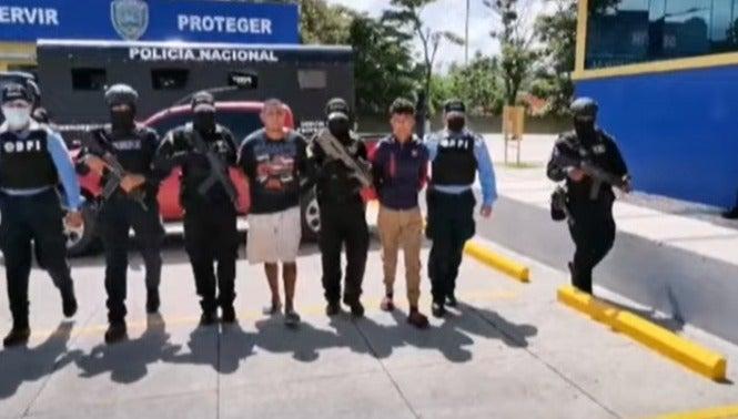 Los detenidos fueron trasladados a los Juzgados correspondientes.