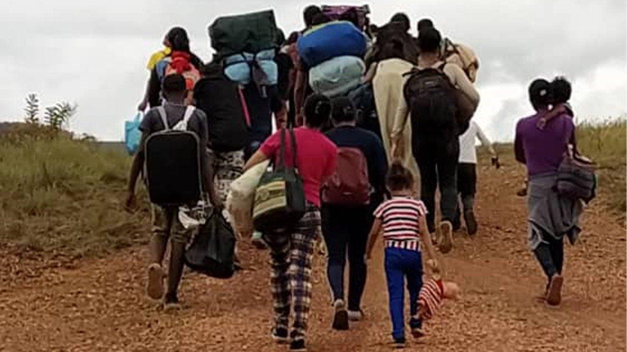 Desde Tapachula salieron cuatro caravanas de migrantes haitianos, pero las autoridades lograron desarticularlas.