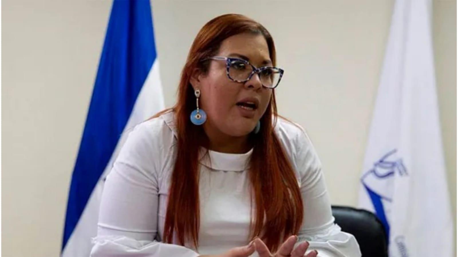 Blanca Izaguirre, titular del Comisionado Nacional de Derechos Humanos (CONADEH).