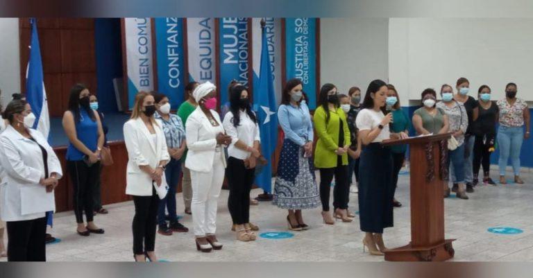 Mujeres del Partido Nacional se pronuncian contra el aborto