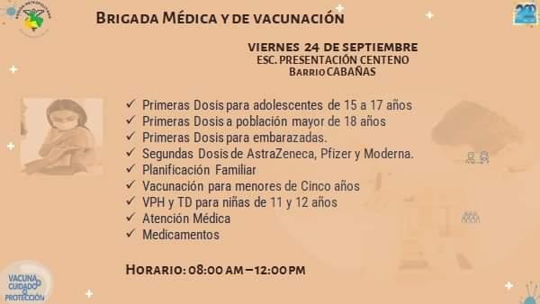 Vacunación COVID salud