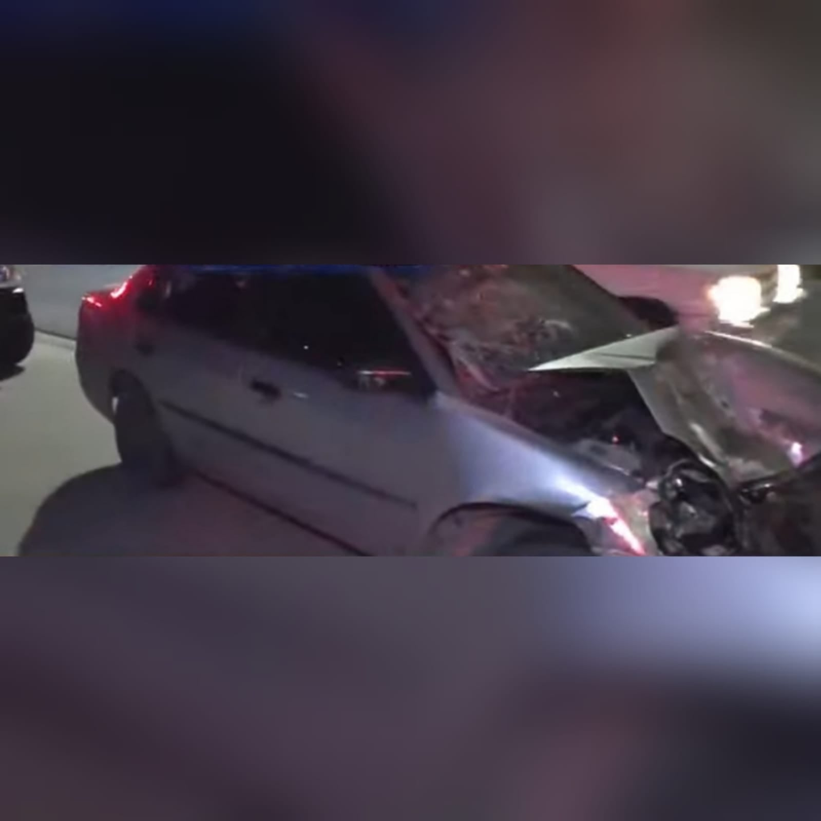 Tres militares heridos en accidente