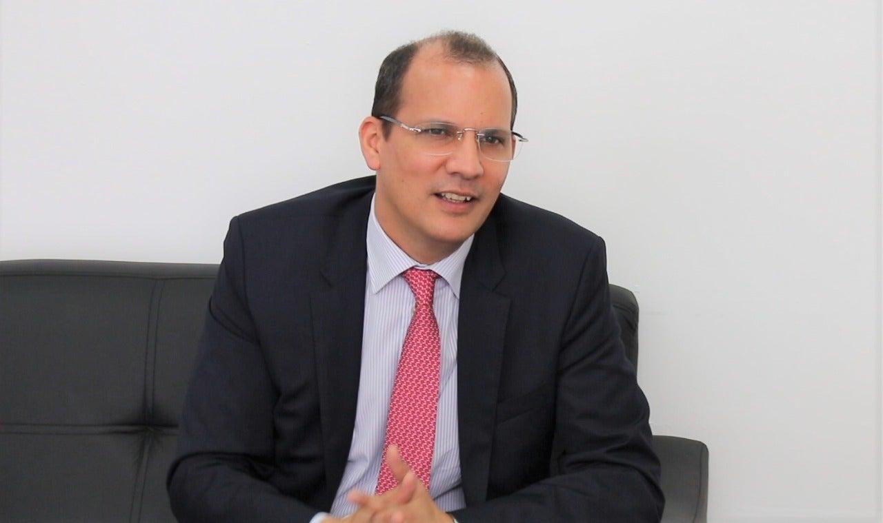 El representante del PNUD en Honduras, Richard Barathe.