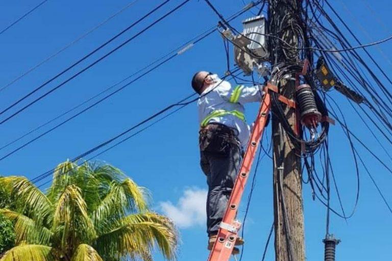 Cortes de energía en Honduras este sábado 25 de septiembre
