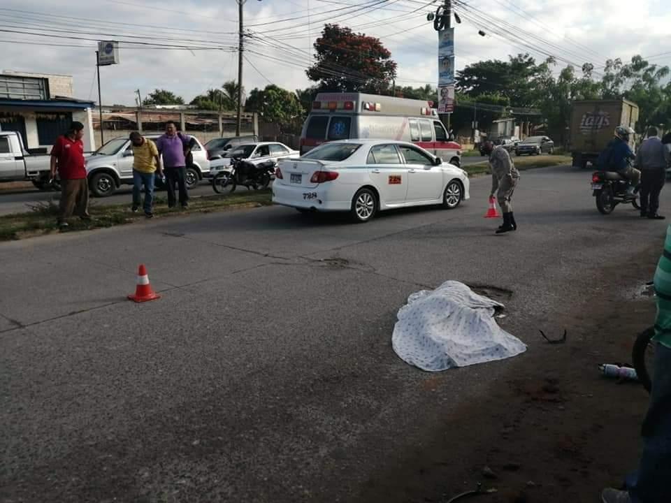 captura conductor atropelló ciclista Comayagua
