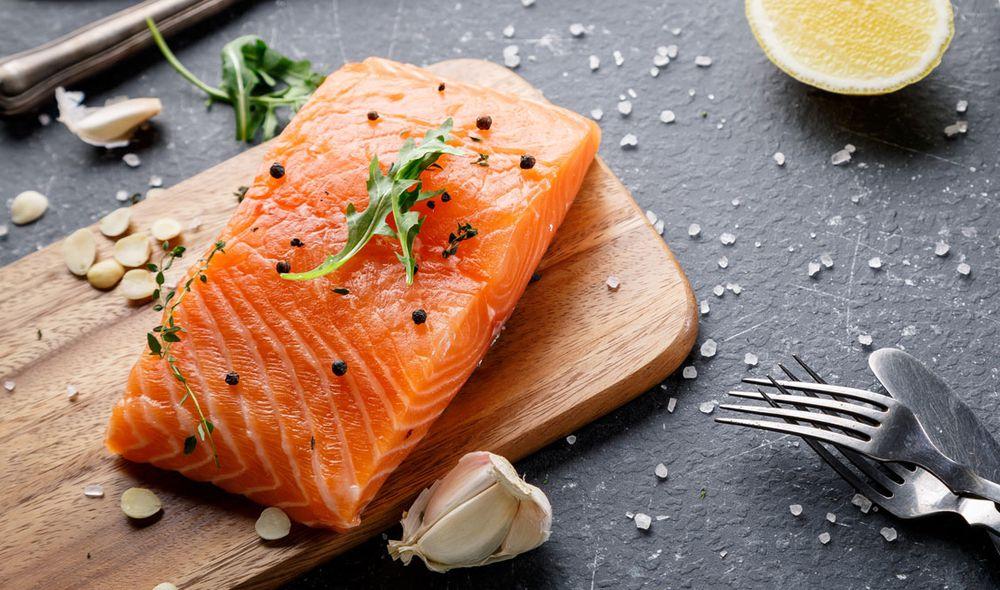 El salmón es una de las carnes blancas más deliciosas.