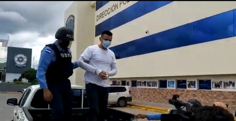 En Tegucigalpa cae salvadoreño supuesto miembro de la MS-13