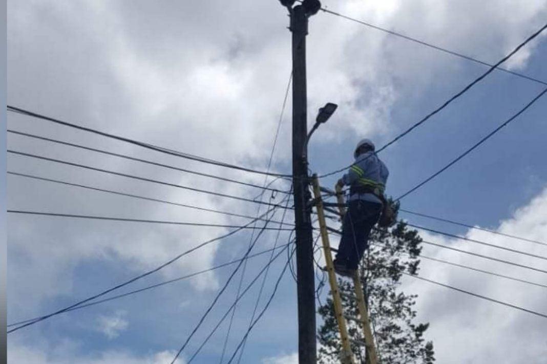 cortes de energía lunes 27 septiembre