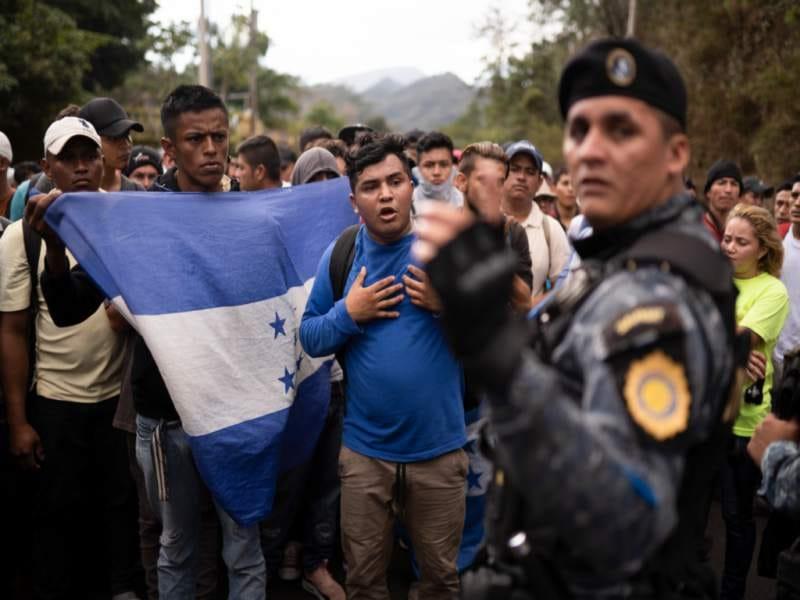 CONADEH pide respeto a migrantes