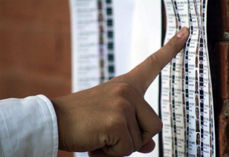 700 mil votantes menos que 2017 tiene el padrón electoral 2021