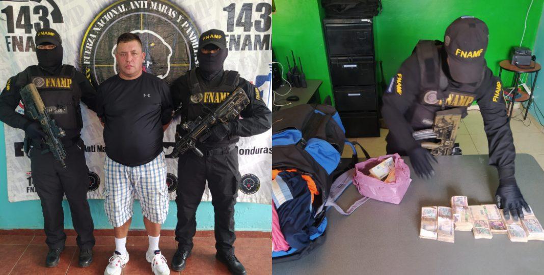 arrestan colombiano en La Ceiba