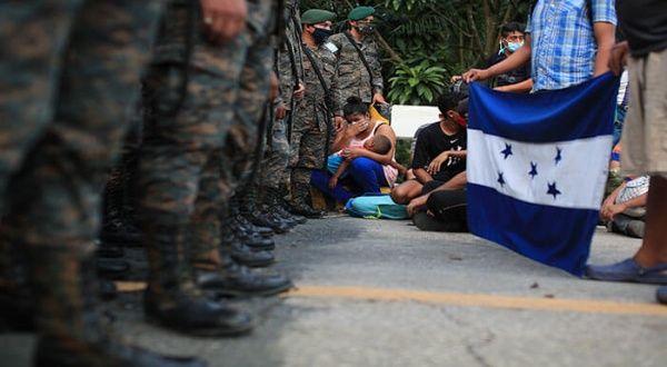 CONADEH pide respetar los derechos de migrantes hondureños