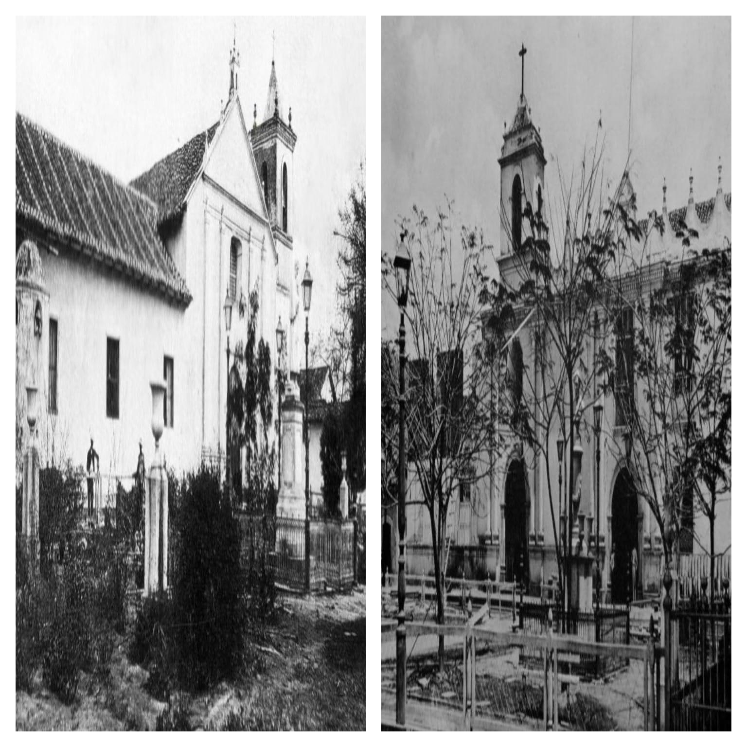 Convento San Francisco, primera sede de la universidad en la capital.