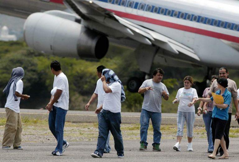 Cifra de hondureños deportados en 2021 supera datos del 2020