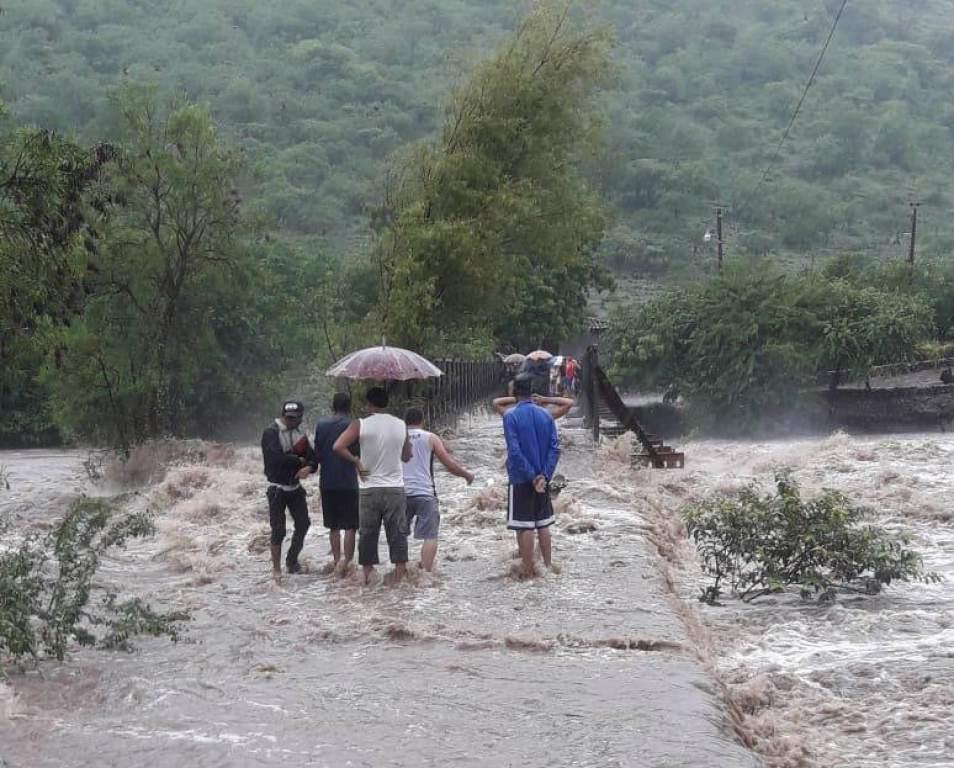 Lluvias generan estragos en Olancho